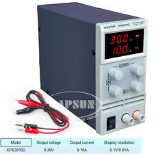 Adjustable DC 0-30V 10A Switching Power Supply LCD Display 110V 220V KPS3010D AU