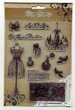 Creative Expressions Clear Stamps Exchangeables VINTAGE BOUTIQUE
