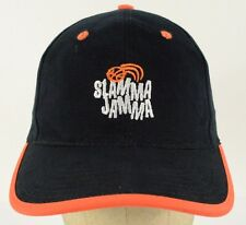 Slamma Jamma Basketball Camp The Rock Orange Black Baseball Cap Hat Adjustable