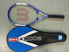 Wilson Ncode N4 OS Oversize Tennis Racquet Grip 4 3/8 With Case Free Shipping