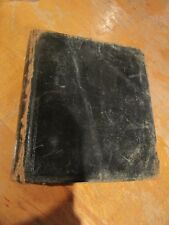 SCARCE POCKET RUSSIAN-FRENCH DICTIONARY 1845 SIGNED BY ANNA TOLSTAYA RUSSIAN PT