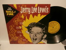"jerry lee lewis""the great ball of fire!""lp12""uk.sun:sunlp1043 de 1986."