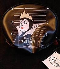 Disney Evil Queen Snow White Makeup Bag Purse Poison Apple Zip New