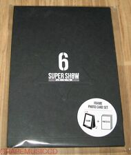 SUPER JUNIOR SUPER SHOW 6 ENCORE CONCERT OFFICIAL GOODS FRAME PHOTO CARD SET NEW