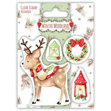 TRIMCRAFT-Clear Desmontado sello-Invierno Woodland-Reno