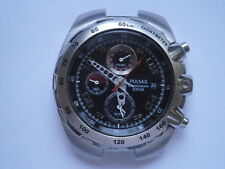 Gents wristwatch PULSAR CHRONOGRAPH by SEIKO quartz watch spares or repair 7T62A