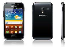 NUOVO Sbloccato Samsung Galaxy Ace Plus gt-s7500-black - con accessori