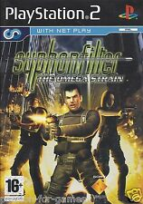SYPHON FILTER THE OMEGA STRAIN for Playstation 2 PS2 - with box & manual - PAL