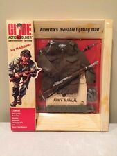 GI Joe 40th Anniversary Soldier Combat FIELD JACKET set 1s MOC Factory Sealed