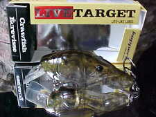 """KOPPERS Live Target Crawfish 2 3/4"""" 5/8 oz Dive 4'-5' CSB70S350 GHOST/GREEN"""
