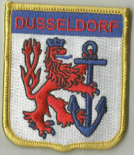 DUSSELDORF GERMANY FLAG WORLD EMBROIDERED PATCH BADGE