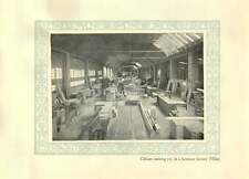 1920 Italy Cabinetmaking In A Furniture Factory In Milan