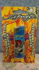 ed Hardy, By Christian Audigier, REFILLABLE TATT00 LIGHTER, Adjustable Flame, #A