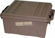 "MTM ACR8-72 Ammo Crate Utility Box with 7.25"" Deep, Large, Dark Earth BRAND NEW"