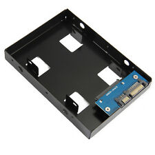 "2.5inch HDD/SSD to 3.5"" SATA Hard Drive Disk Converter Adapter Mounting Bracket"