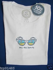 "NWT Life is Good.®_Women's Classic Fit ""See Beauty Sunglasses""  S/S Tee (L)"