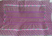 """NEW URBAN OUTFITTERS URBAN RENEWAL COLORFUL BOXES RUG 40"""" X 58"""" RETRO FIND"""