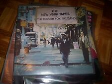 THE RODGER FOX BIG BAND - THE NEW YORK TAPES * OZ JAZZ FUNK LP