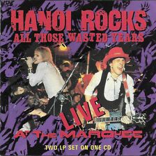 All Those Wasted Years - Hanoi Rocks  CD, EXTRAS: Reissue, Remastered, 18 Tracks