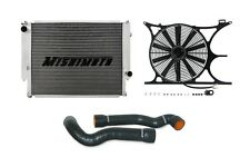 MISHIMOTO Radiator+Fan Shroud+Hose Kit Black 92-95 BMW 325/95-99 M3 MT E36