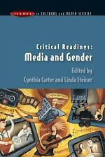 Media and Gender by Linda Steiner and Cynthia Carter (2003, Paperback)