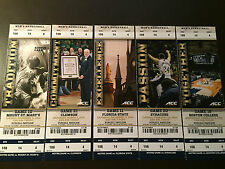 Notre Dame Fighting Irish 2014-15 NCAA basketball ticket stubs - One ticket