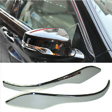 Chrome Rearview Mirror Side Molding Cover Trim For Honda Accord 2013 2014