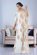 DUBAI VERY FANCY KAFTANS / abaya jalabiya Ladies Maxi Dress Wedding gown Super