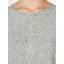 John Lewis Capsule Collection Batwing Jumper, Grey SIZE 14