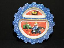 "Bob The Builder 8"" Melamine Gear Shaped Plate Hit Keith Chapman 3+ 2005 VGC"