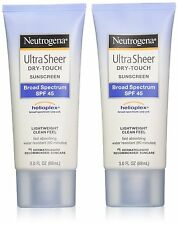 Neutrogena Ultra Sheer Dry-Touch Sunblock, SPF 45, 88 ml (Pack of 2)