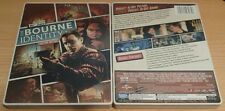 The Bourne Identity Steelbook Bluray & DVD disc never played limited-no digital
