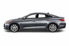 For: HYUNDAI AZERA; BODY SIDE Moldings Mouldings Trim CHROMED ABS 2012-2016