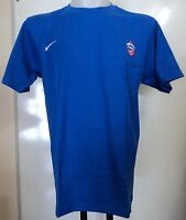 CSKA MOSCOW BASKETBALL BLUE TEE SHIRT BY NIKE ADULTS SIZE LARGE BRAND NEW