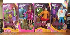 SCOOBY DOO Daphne Velma Fred Ken Doll Barbies (Lot of 4)  NRFB Z135