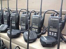 (6) MOTOROLA HT1250 UHF RADIO 403-470MHz 128CH AAH25RDF9AA5AN NARROW BAND XTS CP
