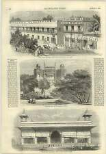 1857 Chandni Chowk Delhi Palace Throne Room Sappers And Miners