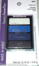 New Wet N Wild Beauty Benefits Ultimate Expressions Eyeshadow Fantasy Land