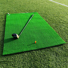 FORB Academy Roll-Up Golf Practice Mat (1.5m x 1m) Roll-Up Fairway Stance & Hitt