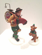 Dept 56 One Man Band and Dancing Dog #5636-8  Heritage Village 3 Piece Set