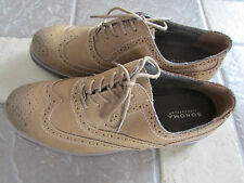 NEW SONOMA TAN SUEDE OXFORD WINGTIP SHOES MENS 12 STYLE: ARSON