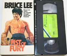 Fist of Fury - VHS Video Film Bruce Lee 1973 0071C Rank Pre-Cert PAL USED