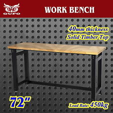 "GUFO 72"" WORK BENCH GARAGE STORAGE TABLE SET CABINET TOOL BOX SHOP SHED TIMBER"
