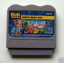 vtech V.Smile Systems Bob the Builder Bob's Busy Day Learning Game Cartridge