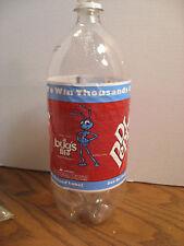Dr. Pepper Empty 2 Liter Bottle / Disney/ Pixar - A Bug's Life Movie -1999