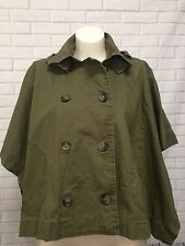 Princess Vera Wang Cape Poncho Double Breasted Buttons SZ S-M