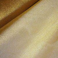 Gold Metallic Soft  Mesh Net Fabric Fairy Material 150 cm Wide-Sold Per Metre