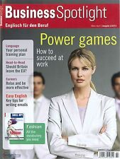 Business Spotlight, Heft 2013/02 - Business-Englisch-Magazin +++ wie neu +++