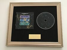 SIGNED/AUTOGRAPHED TWO DOOR CINEMA CLUB - GAMESHOW FRAMED CD PRESENTATION. RARE