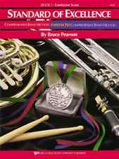 Standard of Excellence (SOE) Book 1, Conductor Score by Bruce Pearson W21F